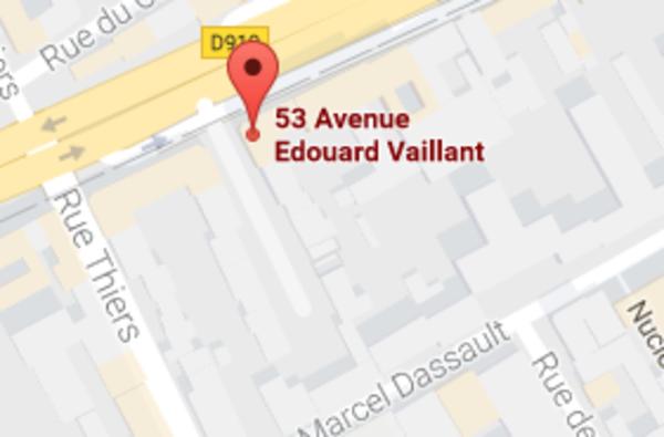 Chambre De Bonne 53 Avenue Edouard Vaillant 92100
