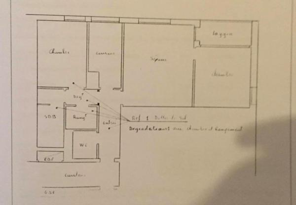 Appartement 9 rue des mimosas 93600 aulnay sous bois for Chambre 13 bobigny